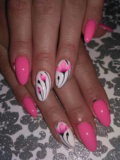 Spring Nail Art, Spring Nails, Summer Nails, Toe Nail Art, Acrylic Nails, Diy Nail Designs, Pedicure Designs, Flower Nail Art, Hot Nails