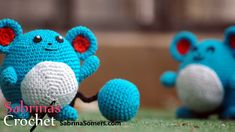 Crochet Marill - Marill Haken [Pokemon][Amigurumi] - YouTube