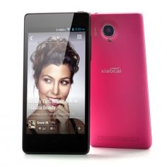 XiaoCai X9 Android 4.2 Quad Core Phone 4.5 Inch QHD OGS Display Screen (Red