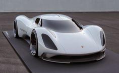 Porsche Electric Le Mans 2035 Prototype front end - NO Car NO Fun! Muscle Cars and Power Cars! Porsche Electric, Electric Cars, Honda Cb750, Nissan 370z, Lamborghini Gallardo, Moto Guzzi, Bugatti Veyron, Le Mans, Mazda