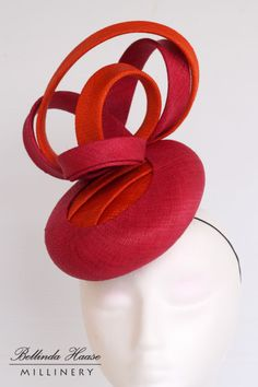 Caris BY BELLINDA HAASE #millinery #hats #HatAcademy
