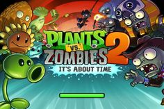 iOS games – Plant vs Zombies 2