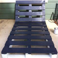 Pallet sofa project