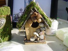 Garden Fairy house by MagickMoss on Etsy, $15.00