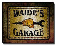Waide's Garage Stretched Canvas Print ZuWEE https://www.amazon.com/dp/B01JLU4W0S/ref=cm_sw_r_pi_dp_x_BizTybEA6D929