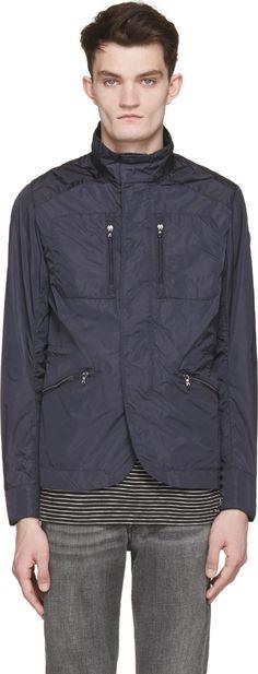 Colmar Navy Nylon Florida Man Jacket