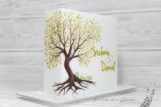 #Hochzeitskerze mit Baum Planter Pots, Wedding, Big, Tree Wedding, Wedding Day, Decorating Candles, Olive Tree, Casamento, Weddings