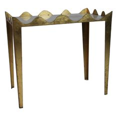 Garouste And Bonetti Side Table 4400€ http://www.1stdibs.com/furniture/tables/side-tables/