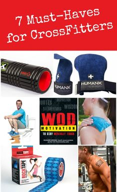 Into CrossFit (or know somebody who is)? You're definitely going to want to check out these seven products.