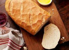 Crusty Italian bread « European Recipes « All Tasty Recipes Crusty Italian Bread Recipe, Basic White Bread Recipe, Italian Bread Recipes, Italian Dishes, No Rise Bread, Bread Rolls, How To Make Bread, Bread Baking, Tray Bakes