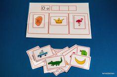 hier Abhörkarten zum O - o   mit einem Legefeld zum Ablegen   mit den Bildern von Frau Locke     LG Gille     hier eine Ansicht         und...
