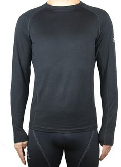 Black Sheep - Men's Merino Base Layer Anyone who has spent time in active pursui. Mountain Bike Clothing, Cycling Tops, Black Sheep, Cycling Outfit, Wearing Black, Mens Fitness, Layers, Base