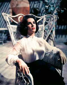 Elizabeth Taylor in 'Suddenly Last Summer', 1959.