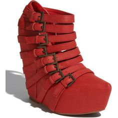 Jeffrey Campbell Zip 2 Red