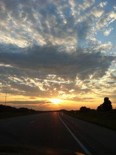 Missouri sunset.