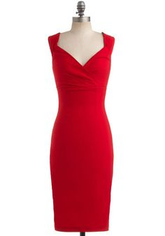Lady Love Song Dress in Ruby, #ModCloth