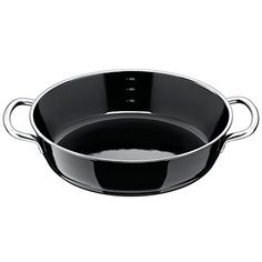 Silit Roasting Pan Uncoated Ø 28Cm Black Professional Made In Germany Inside Scale Pouring Rim Stainless Steel Handle Silargan Functional Ceramic Suitable For Induction Hobs Dishwasher-Safe
