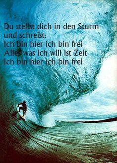 Words taken from 'Perfekte Welle' by Juli