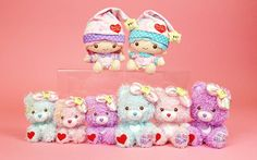 【2014】【KIKI&LALA x Care Bears】Plush Doll ★Little Twin Stars★