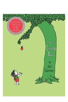 The Giving Tree 40th Anniversary Edition Book with CD by HarperCollins Children's Books on @HauteLook