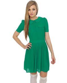 Charming Chelsea Green Dress #SephoraColorWash
