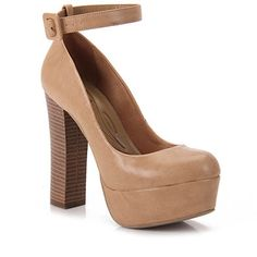 Sapato Scarpin Feminino Lara - Bege