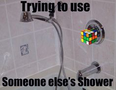 Some showers are complicated