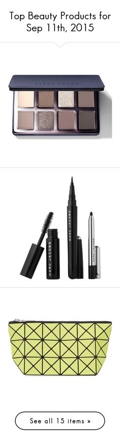 """""""Top Beauty Products for Sep 11th, 2015"""" by polyvore ❤ liked on Polyvore featuring beauty products, makeup, eye makeup, eyeshadow, sparkle eye shadow, sparkle eyeshadow, eye shimmer makeup, bobbi brown cosmetics, shimmer eyeshadow and fragrance"""