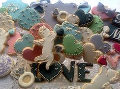 Cookieria By Margaret Wedding Cookies Candy Color