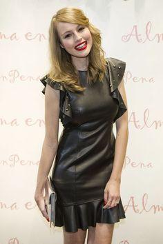 Esmeralda Moya attends Alma en pena store opening | Leather Girls Blog | Bloglovin'