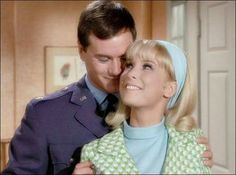 """""""I Dream of Jeannie"""" Season 2 Episode """"The Birds and the Bees Bit"""" 1966-1967"""