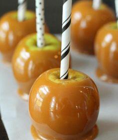 Cutest caramel apples. Sweet!