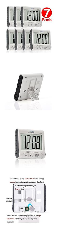 Timers 98852: Senbowe 7 Pack Digital Kitchen Timer Cooking Timer With Large Display Screen... -> BUY IT NOW ONLY: $36.77 on eBay!