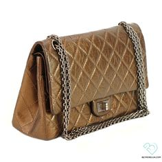 885793f74401 Chanel Bronze 2.55 Reissue Quilted Classic 226 Flap Bag | Biltmore Lux  Chanel Bronzer, Quilted