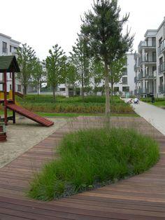 Osiedle mieszkaniowe Wzgórze Focha w Gdańsku Sidewalk, Projects, Side Walkway, Sidewalks, Pavement, Walkways