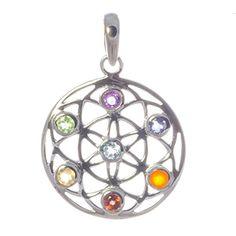 Silber Anhänger Mandala klein Esoterik Silberschmuck, pendant silver https://www.amazon.de/dp/B01N7R6HCJ
