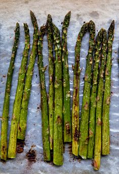 blasted-roasted-asparagus-pbs Healthy Vegetable Recipes, Healthy Summer Recipes, Vegetable Side Dishes, Gf Recipes, Side Dish Recipes, Whole Food Recipes, Recipies, Cooking Recipes, Grilled Asparagus
