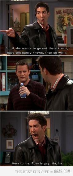 Ross is gay, haha