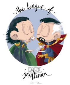 "After Cumberbatch's news about Doctor Strange, he and Hiddleston establish ""The League of Marvel Gentlemen"""
