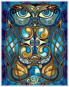 Avalon Celtic Legend | coruja na mitologia céltica