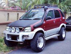 Daihatsu Terios, Mini Jeep, Kia Sportage, Custom Cars, Cars And Motorcycles, Offroad, Toyota, Army, Trucks