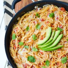 Vermicelli is toasted in a skillet and cooked in a flavorful mix of broth and tomatoes, then topped with Monterey Jack cheese.