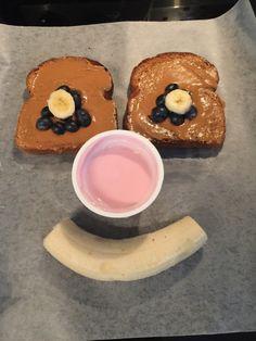 Healthy, fun kid breakfast- all four food groups