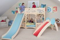 If I have to ask how much it is...     Indoor playground, playbed, playhouse, furniture, and toys Rhapsody Bed 5