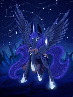 Luna Way to star Forge by ~Dalagar on deviantART
