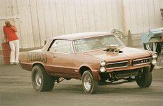 1965 Pontiac GTO Gasser (straight axle)