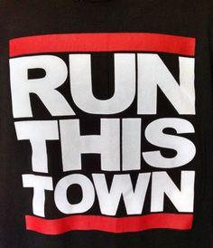 Run-This-Town-Black-XXL-2X-T-Shirt-Run-DMC-Def-Jam-Really-Great-Top