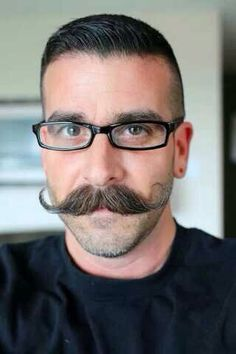 Want your man's mustache to look like this? Send him over to www.lookbooker.com.sg today to schedule his next barber appointment!