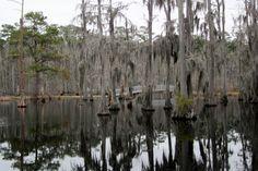 Sam Houston State Park near Lake Charles Louisiana