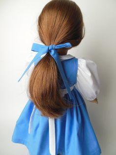 Belle Village Dress for American Girl 18 Doll by NancysBigIdeas